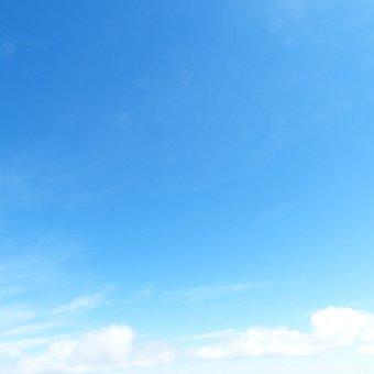 Sky, Clouds, Sky Blue, Blue, Background  Sky