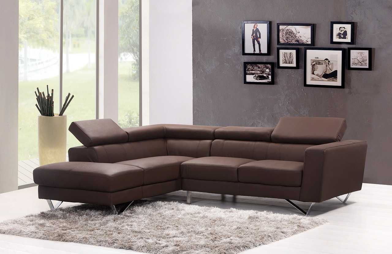 Sofa, Couch, Living Room, Home, Interior