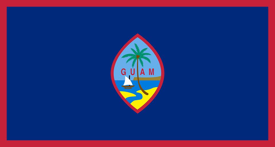 グアム フラグ 国旗 , Pixabayの無料ベクター素材