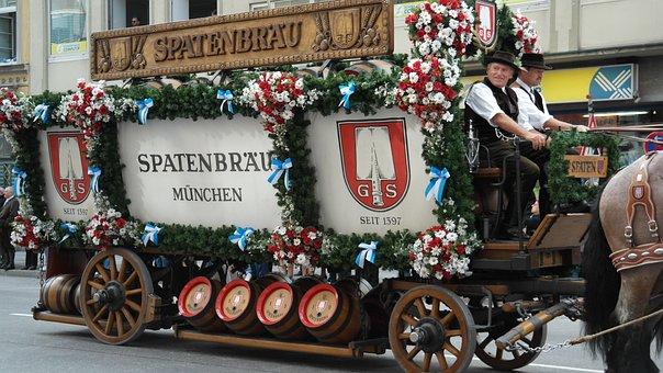 Beer Car, Pageant, Beer, Oktoberfest