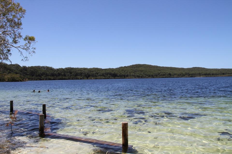 Lake in Australia