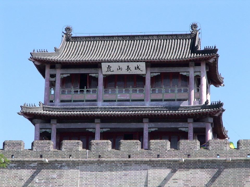 Foto Gratis Grande Muraglia Della Cina Tempio Immagine
