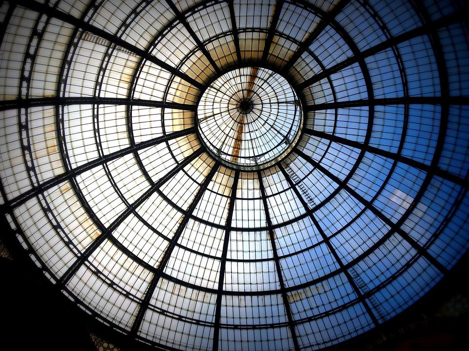 Free photo window circle milan architecture free for Window design circle