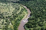 river, affluent, water