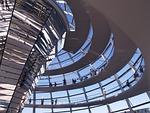 berlin, reichstag, szklana budowla
