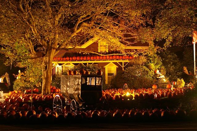Halloween Pumpkins Scene 183 Free Photo On Pixabay