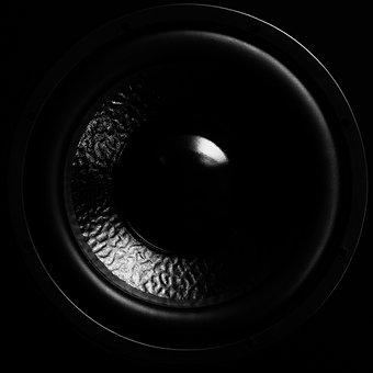 Speakers, Subwoofer, Bass, Membrane