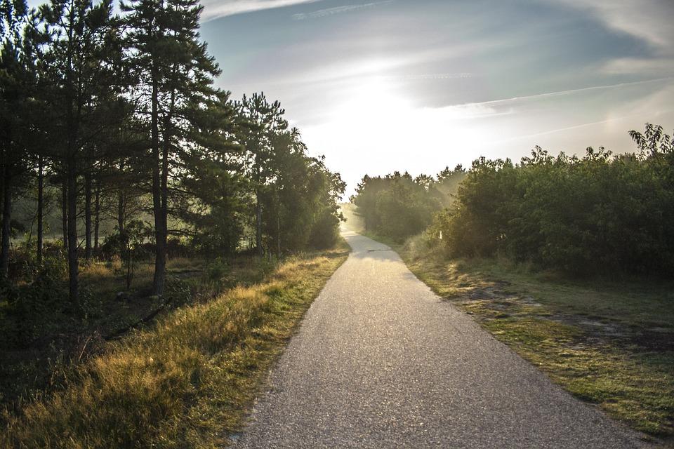 自転車パス, 朝陽, アーメラント島