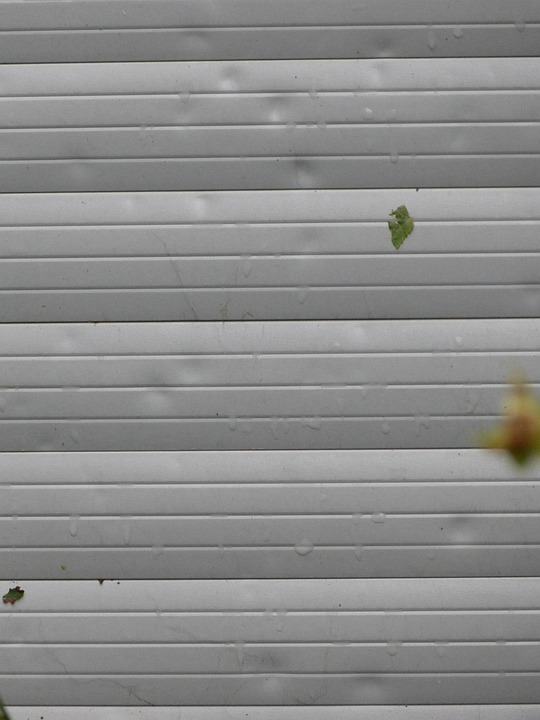 Free photo: Roller Shutter, Dents, Hail Damage - Free Image on Pixabay - 189528