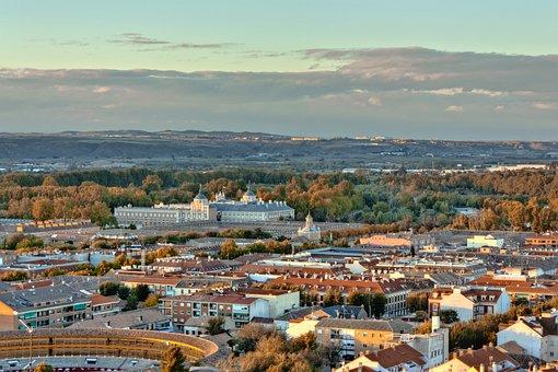 Vista panorámica de Aranjuez