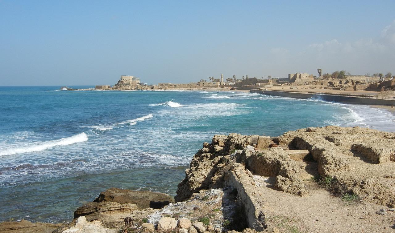 Caesarea Israel Port - Free photo on Pixabay