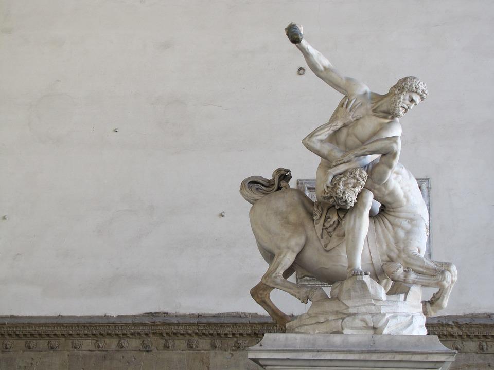 Hércules Vence A La Kentaurt, Giovanni Da Bologna