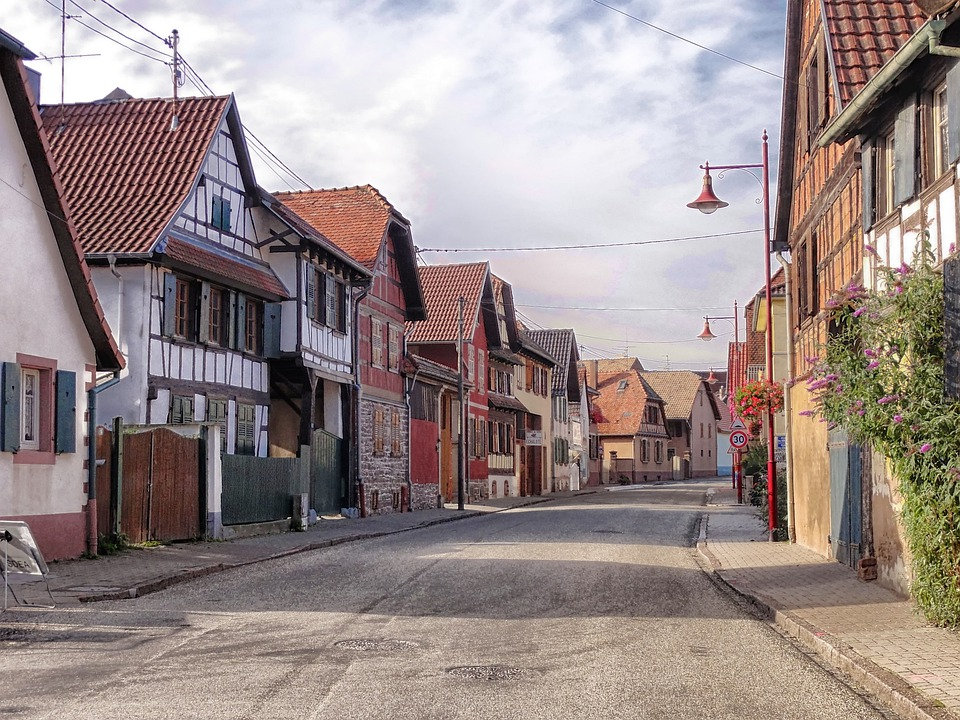 free photo fudenheim germany village town free image