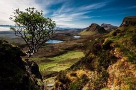 Landscape, Quairaing, Scotland