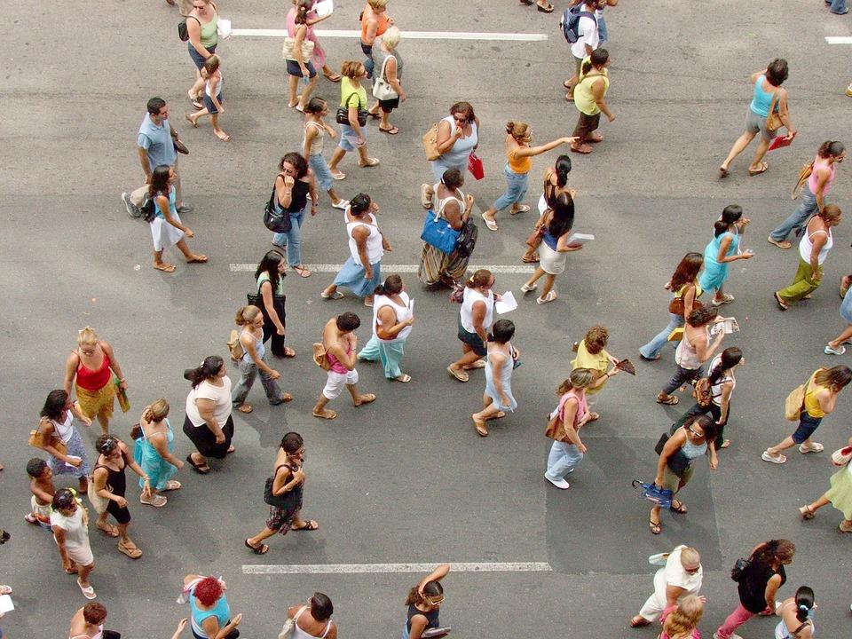 Aerial View People Png