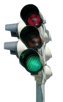 Semáforo, Verde, Señal De Semáforo