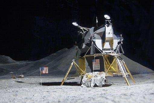 Moon Landing, Lunar Module Eagle