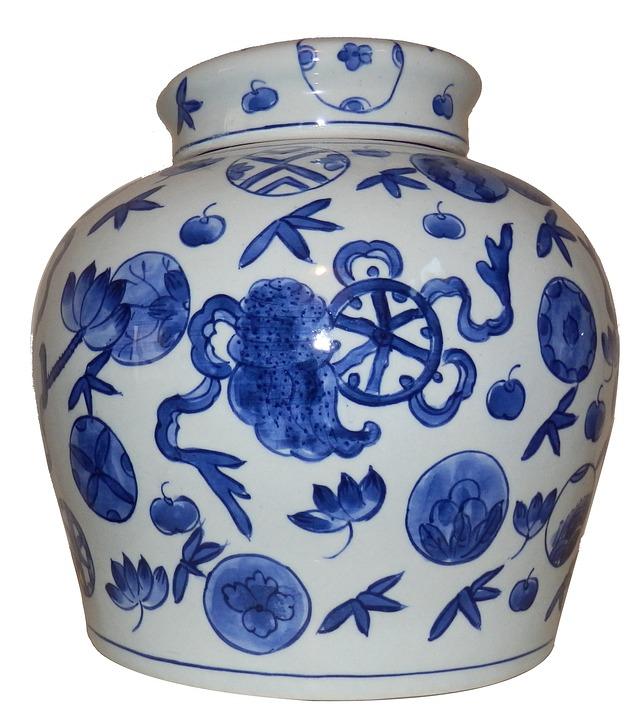 Foto gratis florero de cer mica jarrones imagen gratis - Jarrones de ceramica ...