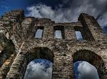 castle, middle ages, sublime