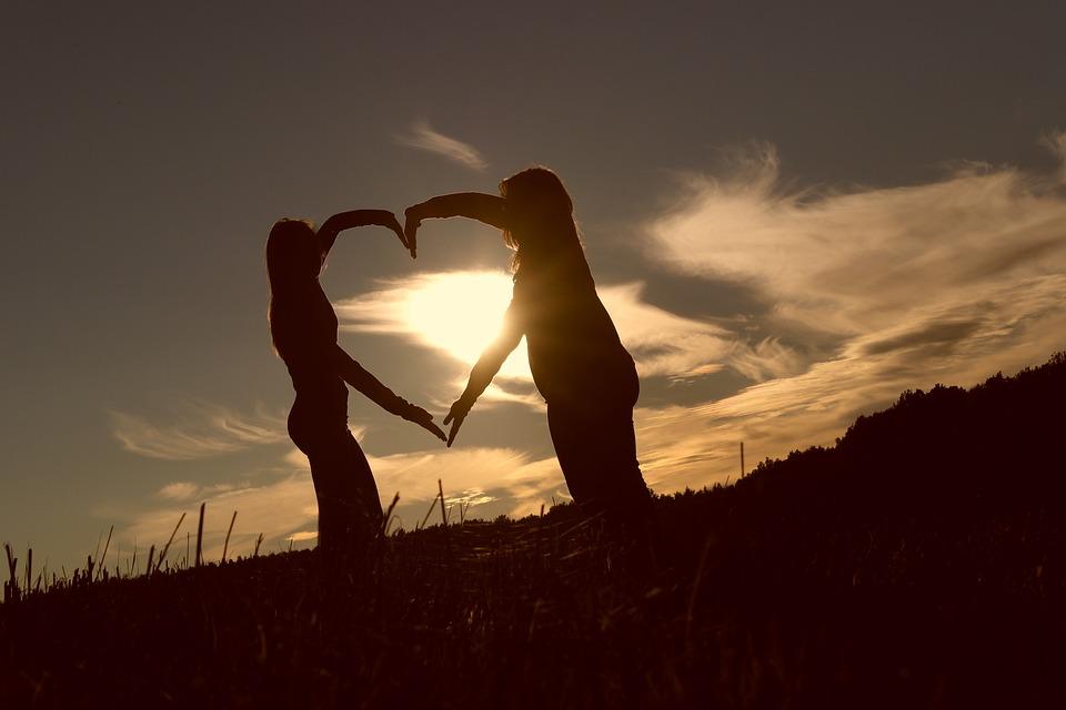 ハート, 友情, 愛, 永遠, 信頼, 気持ち, 手