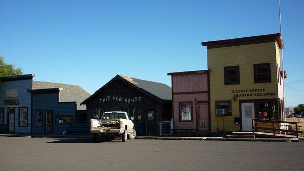 Ville Fantôme, Shaniko, Oregon