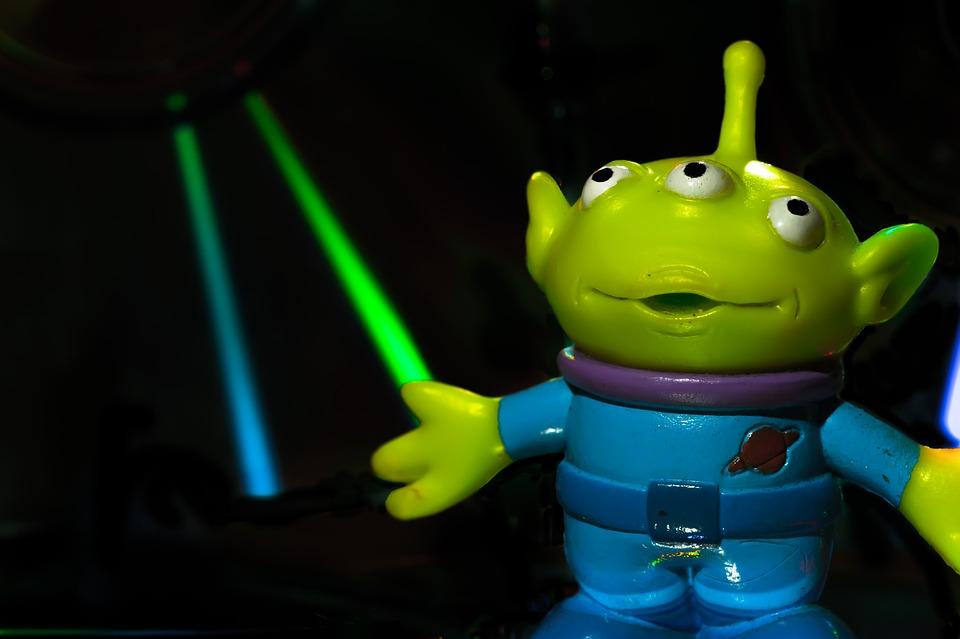 Toy Story Alien Cartoon Character Design