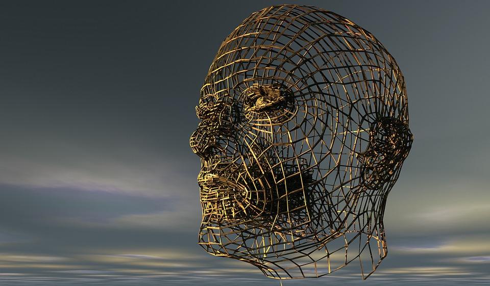 Kopf, Menschenkopf, Halbprofil, Portrait, Seitenansicht