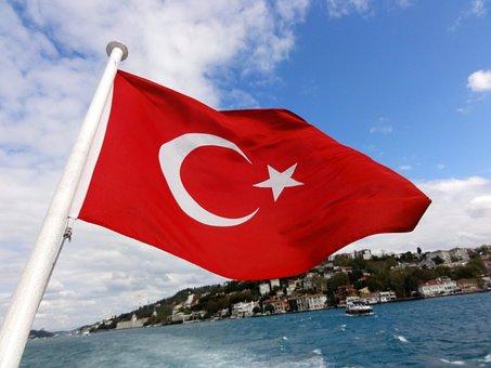 Turkey Istanbul Constantinople Sky Flag Fl