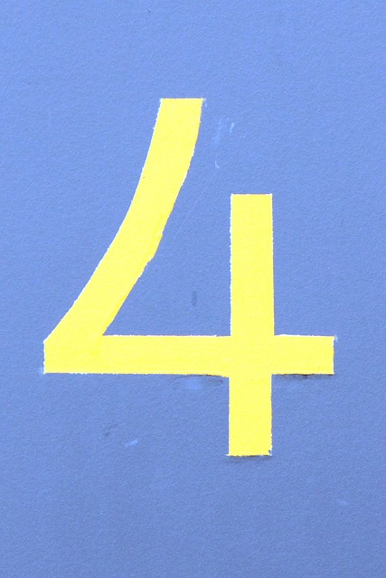 Free photo: Number, Digit, House Number, Four - Free Image ...