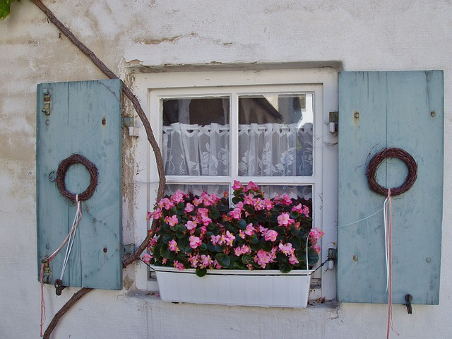 Window Old Flowers 183 Free Photo On Pixabay