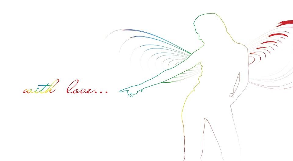 kostenlose illustration silhouette engel fl gel elegant kostenloses bild auf pixabay 198467. Black Bedroom Furniture Sets. Home Design Ideas