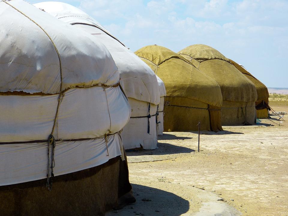 Wohnen Im Zelt : 몽고 유목민의 천막 텐트 주거 구조 · pixabay의 무료 사진