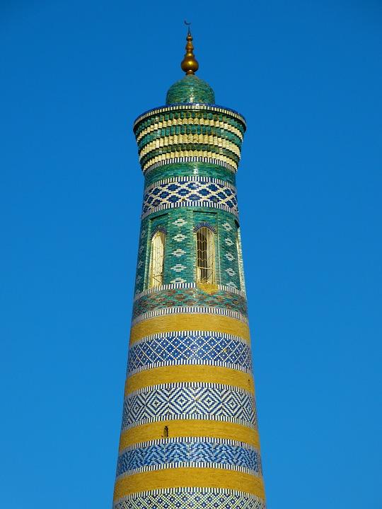 free photo khiva kihva minaret free image on pixabay