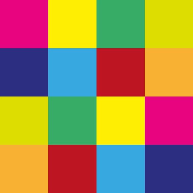 Free illustration color square arrangement tile free for Carrelage 2 couleurs