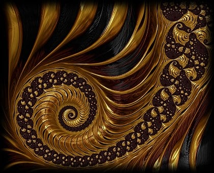 Fractal, Spiral, Endless, Mathematics