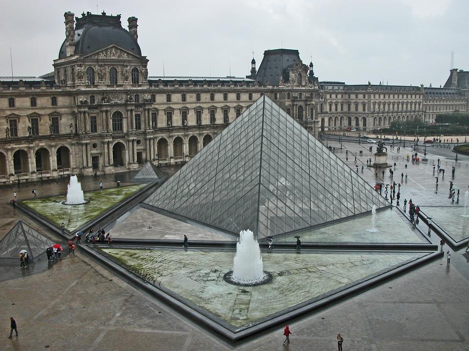 Incroyable Paris, Louvre, Pyramid, Architecture, Glass Pyramid