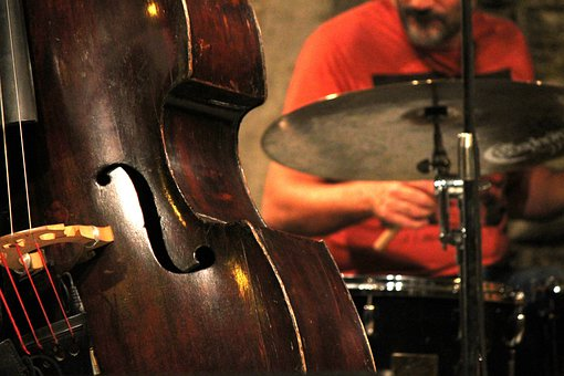 Jazz, Double Bass, Music, Concert