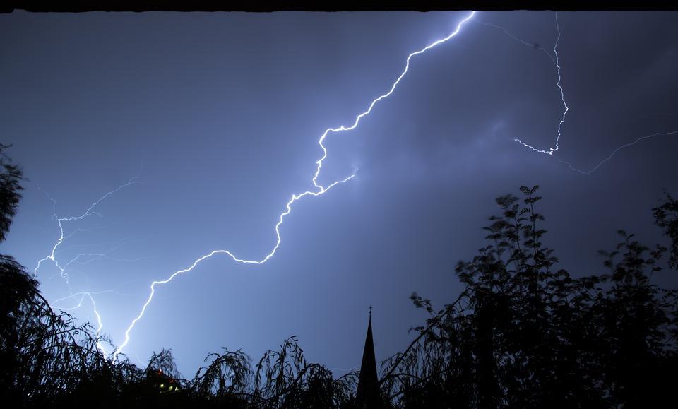 thunderstorm deutsch