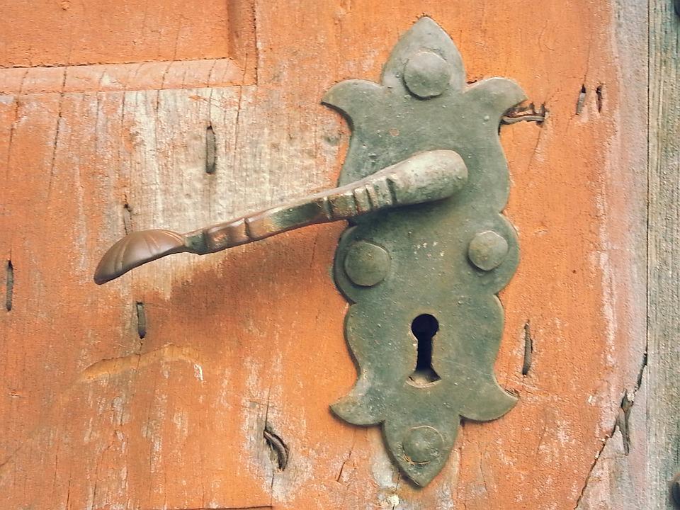 Free Photo Door Lock Antique Door Free Image On Pixabay 200697