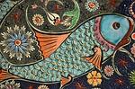mozaika, ryb, dachówka