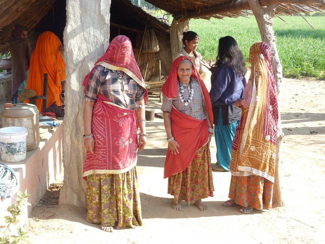 Деревни в индии фото рынок
