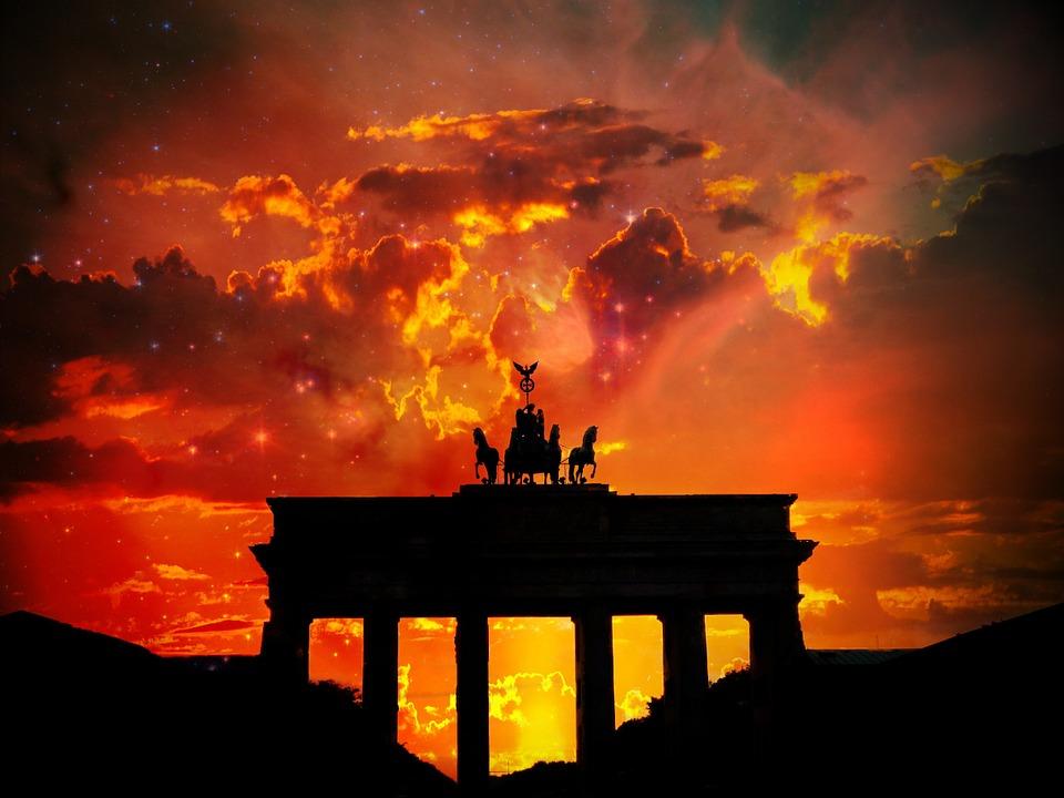 free illustration brandenburger tor berlin germany