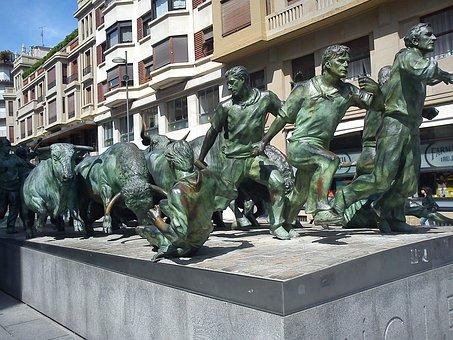 Monumento al Encierro, Pamplona