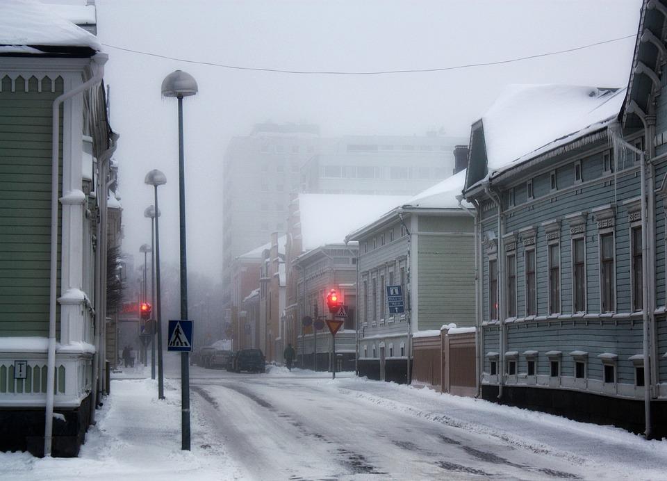Free Photo: Oulu, Finland, Winter, Snow, Ice