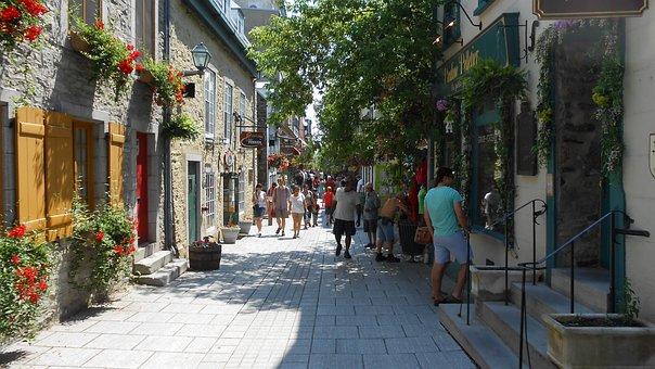 Ville De Québec, Québec, Ville, Rue
