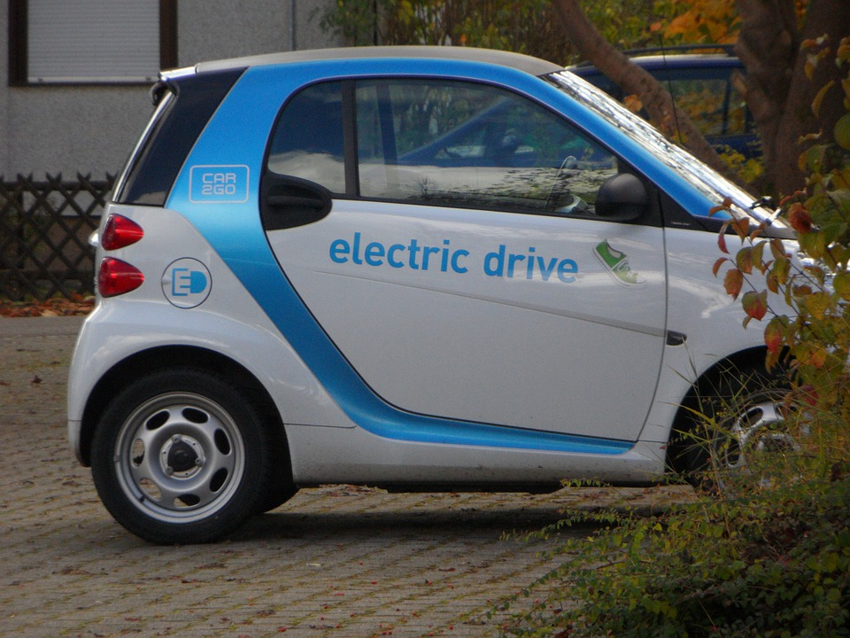 Car To Go, Ulm, Auto, Small Car, Electric Car, Park