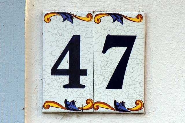 Number Digits 47 Forty 183 Free Photo On Pixabay