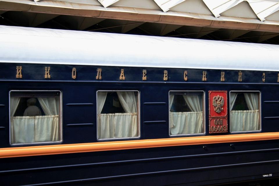 Train Russian Station 183 Free Photo On Pixabay