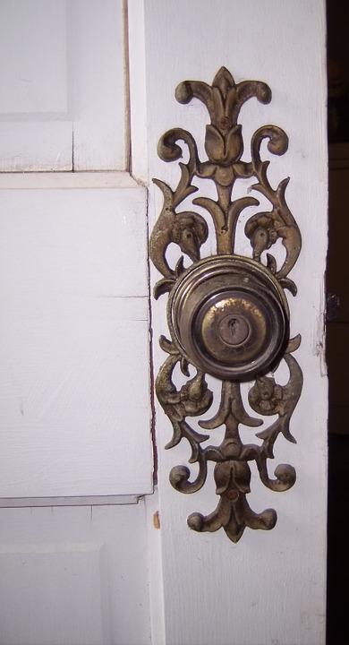 Doorknob, Knob, Filigree, Metal, Intricate, Decorative