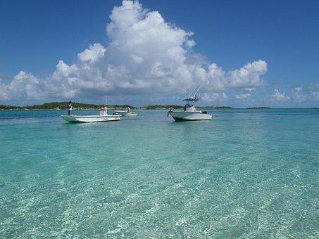 Mer, Caraïbes, L'Eau, Bateaux, Île De